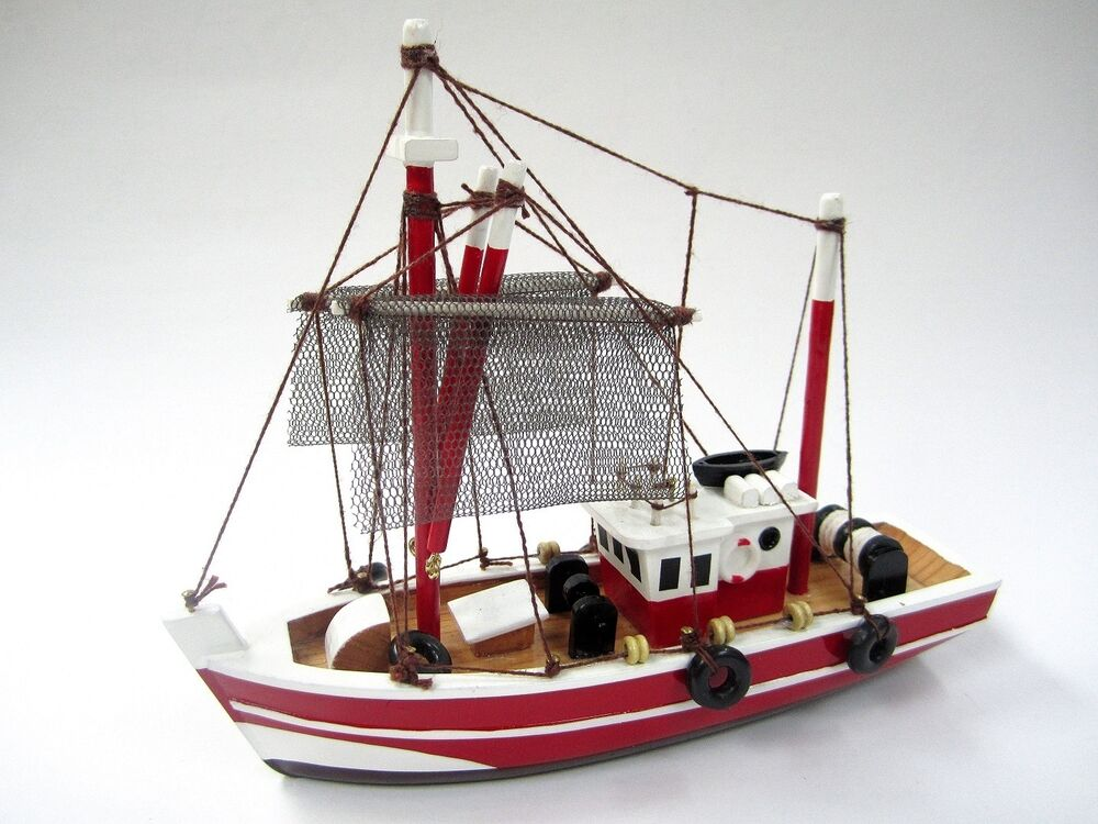 Fishing Magician Starter Boat Kit: Build Your Own Fishing Boat Wooden Model Ship 799439007031 | eBay