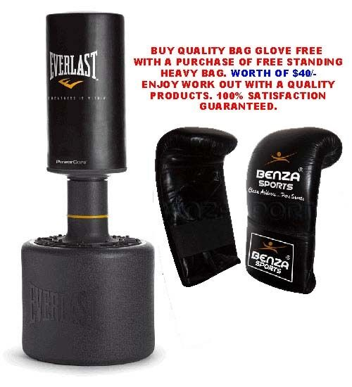 Everlast Free Standing Heavy Bag Everlast Power Core Free
