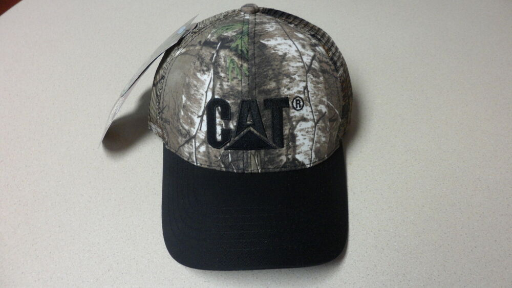 Caterpillar Cap Realtree Ap Hat New With Tags Mesh Camo