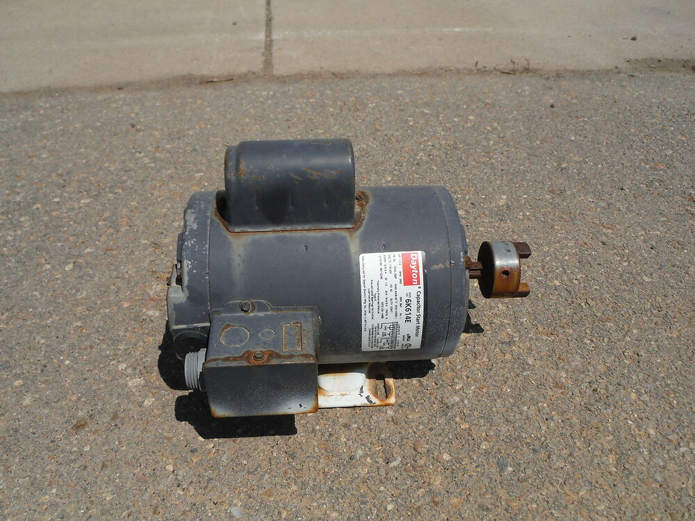Dayton Capacitor Start Motor 6k614e 1 5hp3450rpm 115 230v