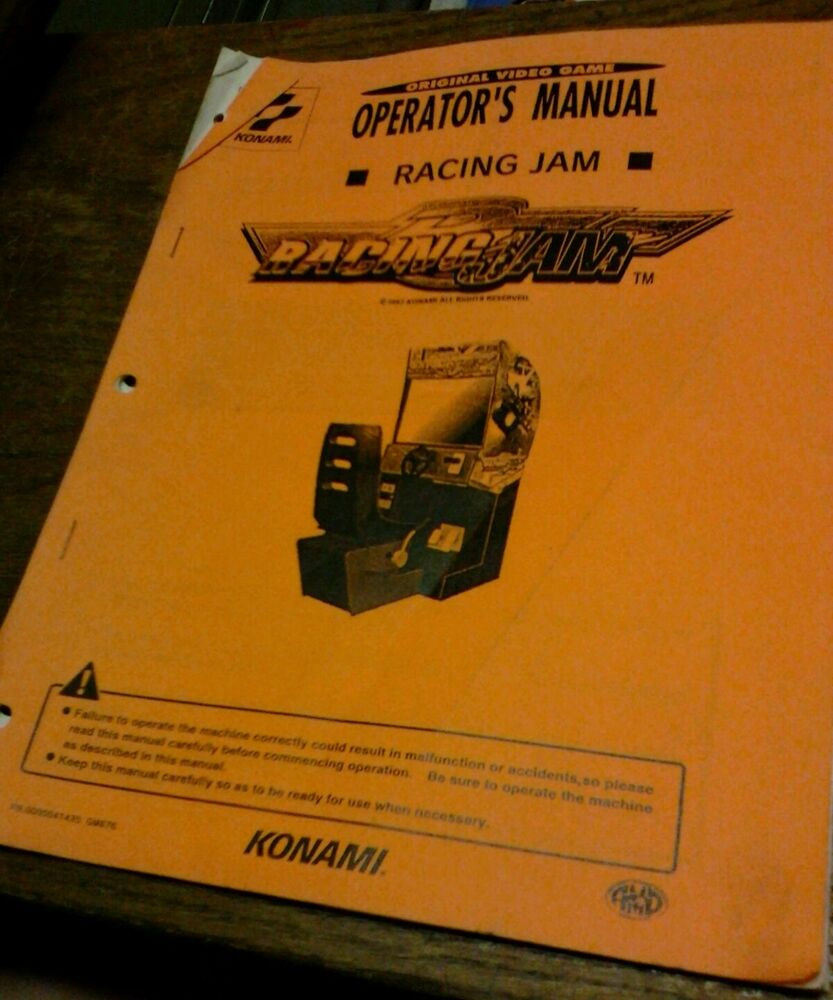 video game instruction manuals