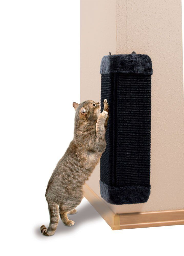 Trixie Wall Saver Corner Cat Scratch Pad 43437 Ebay