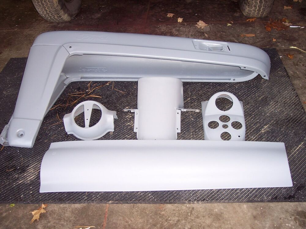 Ford 600 Tractor Hood : Ford hood complete assembly original