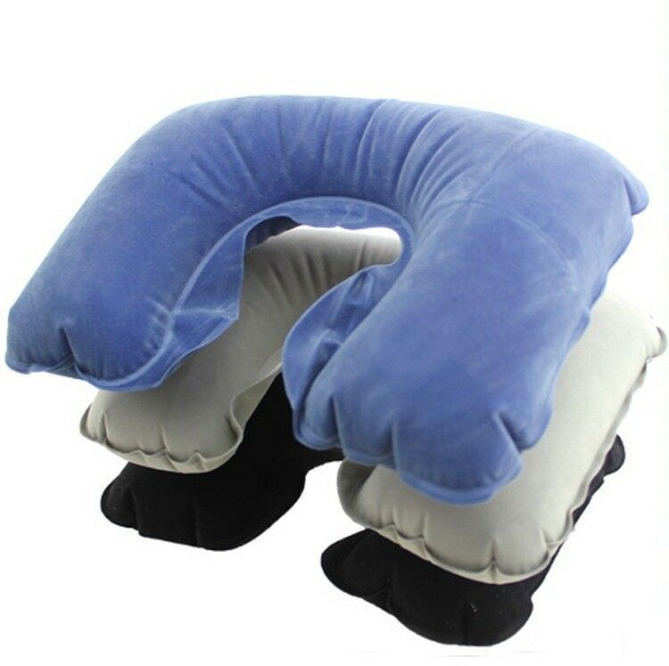 Air Pillow Inflatable U Shape Neck Blow Up Cushion