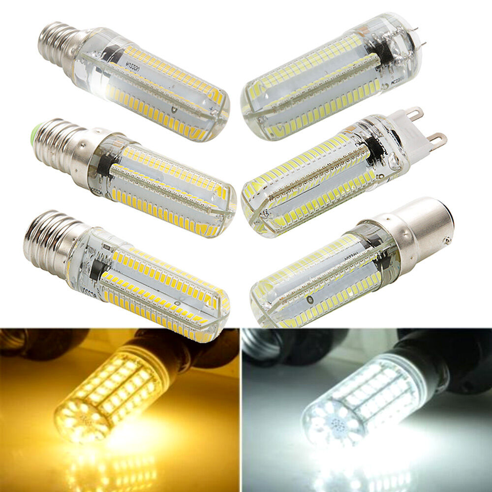 110v 10w g4 g9 e12 e14 e17 ba15d 152leds dimmable corn bulb lamp warm cool white ebay. Black Bedroom Furniture Sets. Home Design Ideas