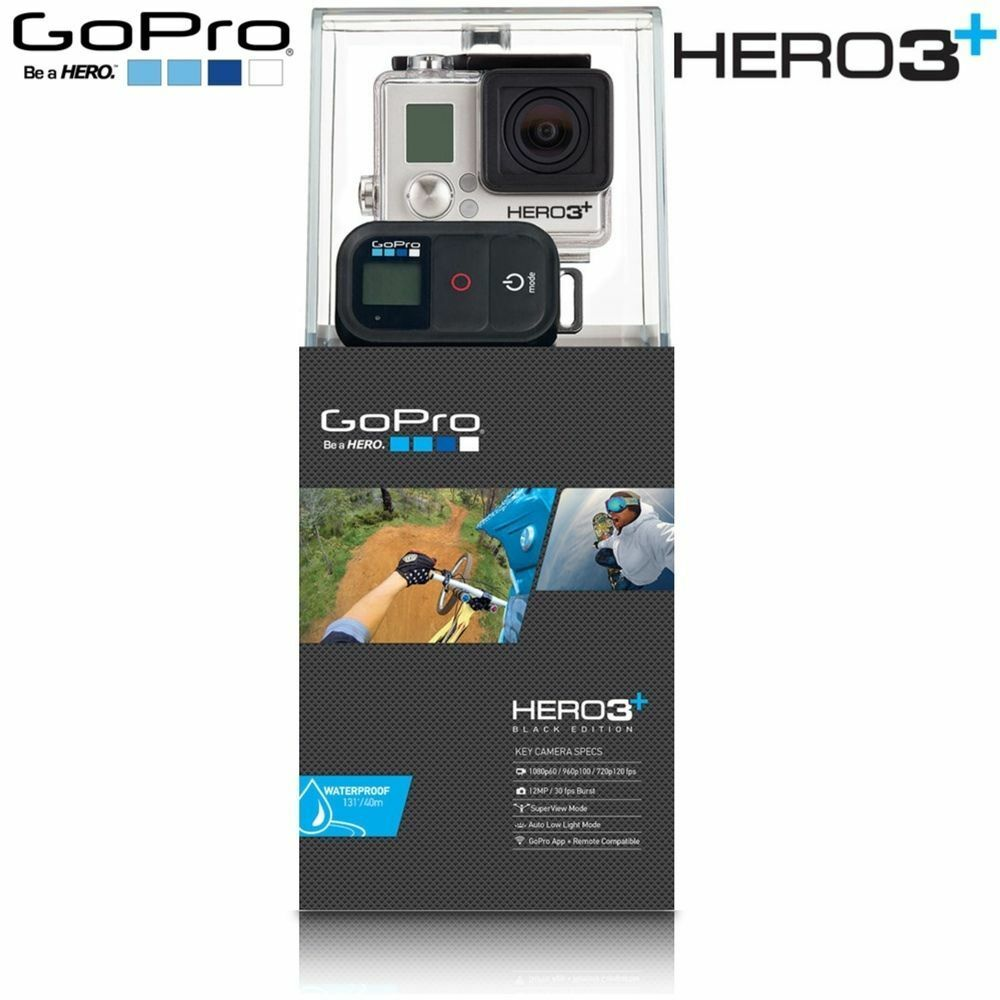 new gopro hd hero3 black edition hero 3 plus chdhx 302. Black Bedroom Furniture Sets. Home Design Ideas