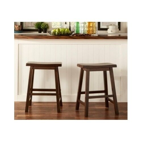 Counter Height Stools Bar Kitchen Set Of 2 Distressed