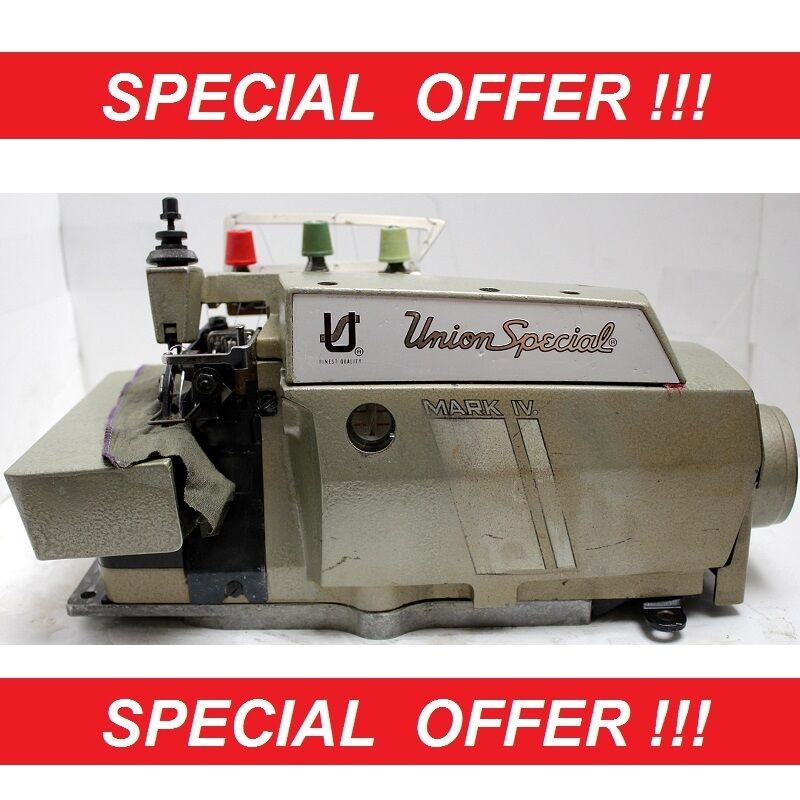 vintage union special sewing machine