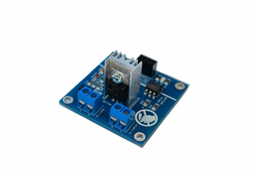 ac led light dimmer module controller board arduino raspberry smart home ebay. Black Bedroom Furniture Sets. Home Design Ideas