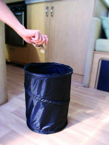 Mini Pop Up Utility Storage Container Small Trash Can For
