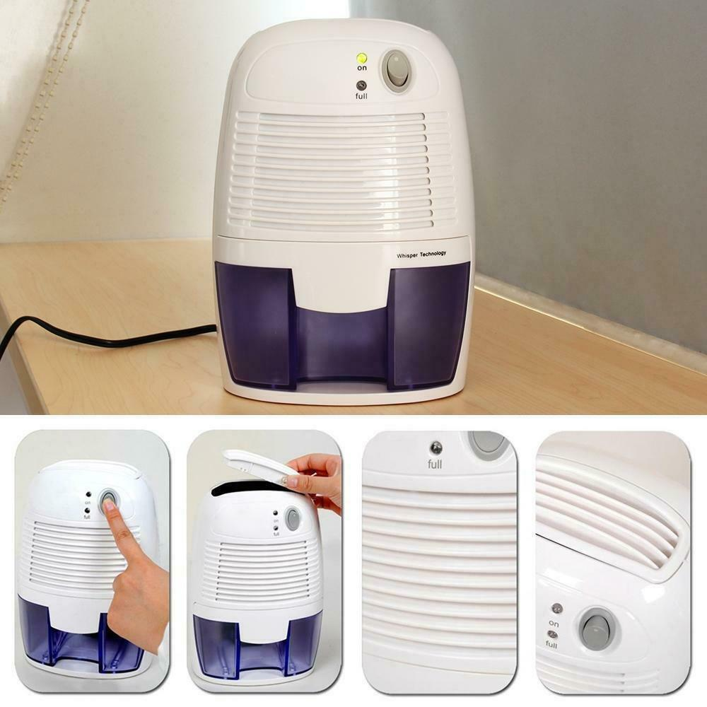Portable Mini Quiet Electric Home Drying Moisture Absorber Air Room Dehumidifier Ebay