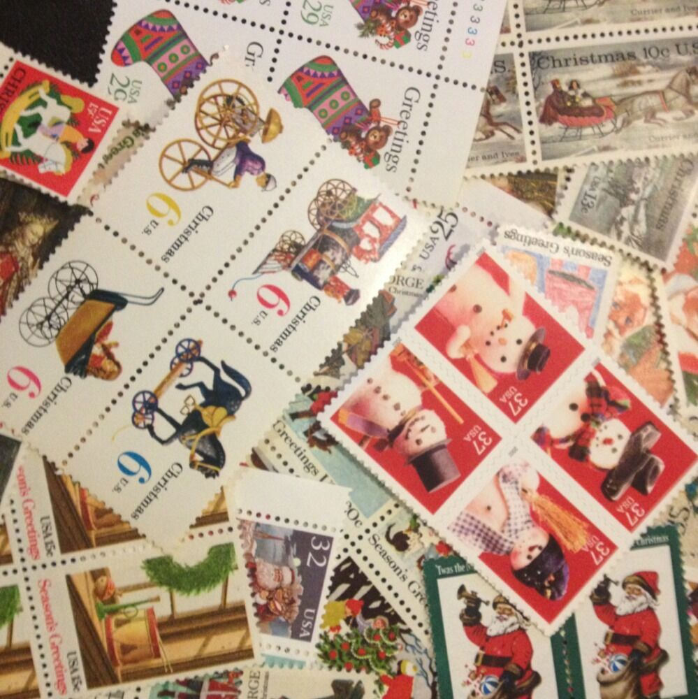 Face christmas stamps 4 cent to forever dress up for How to ship a wedding dress usps