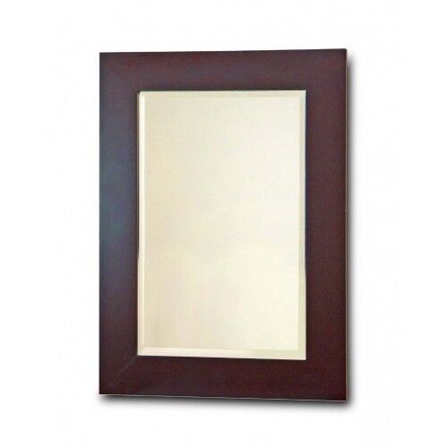 Elegant Frame Mirror Bathroom Room Wooden Framed Home D Cor Glass Dark Espres