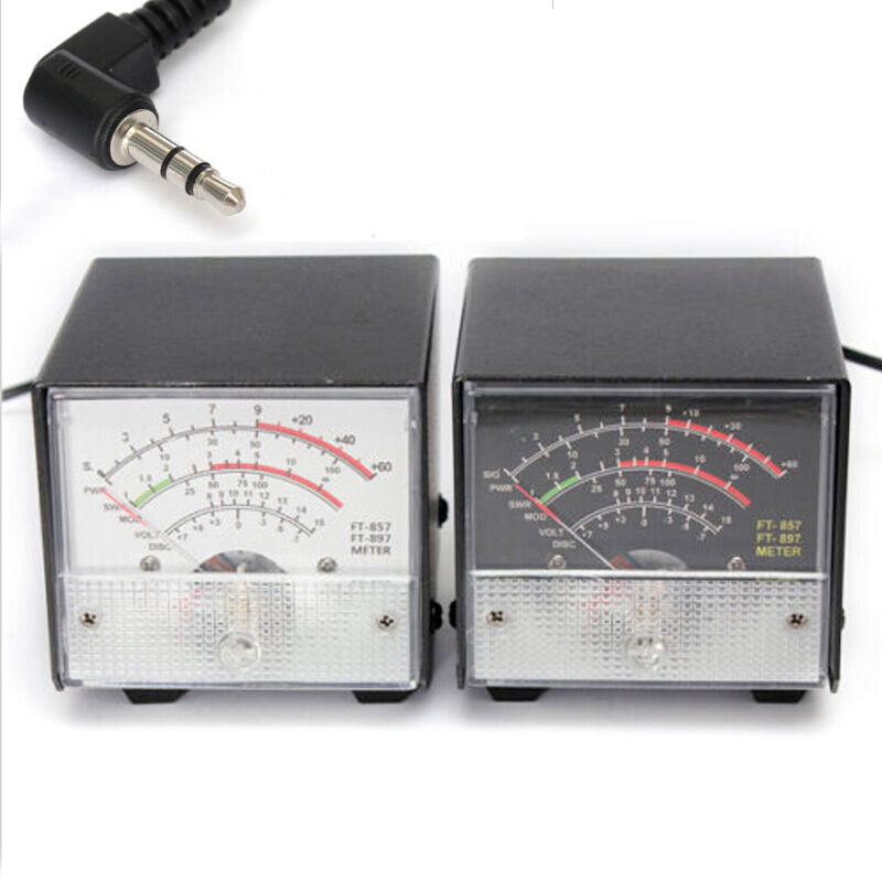 Swr Power Meter : New arrival external s meter swr power for yaesu ft