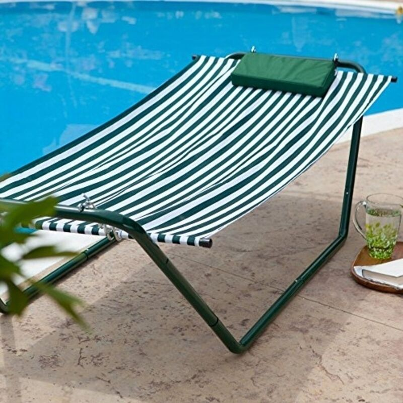 Algoma 4 Point Hammock Lounge Amp Stand Combination 640133g
