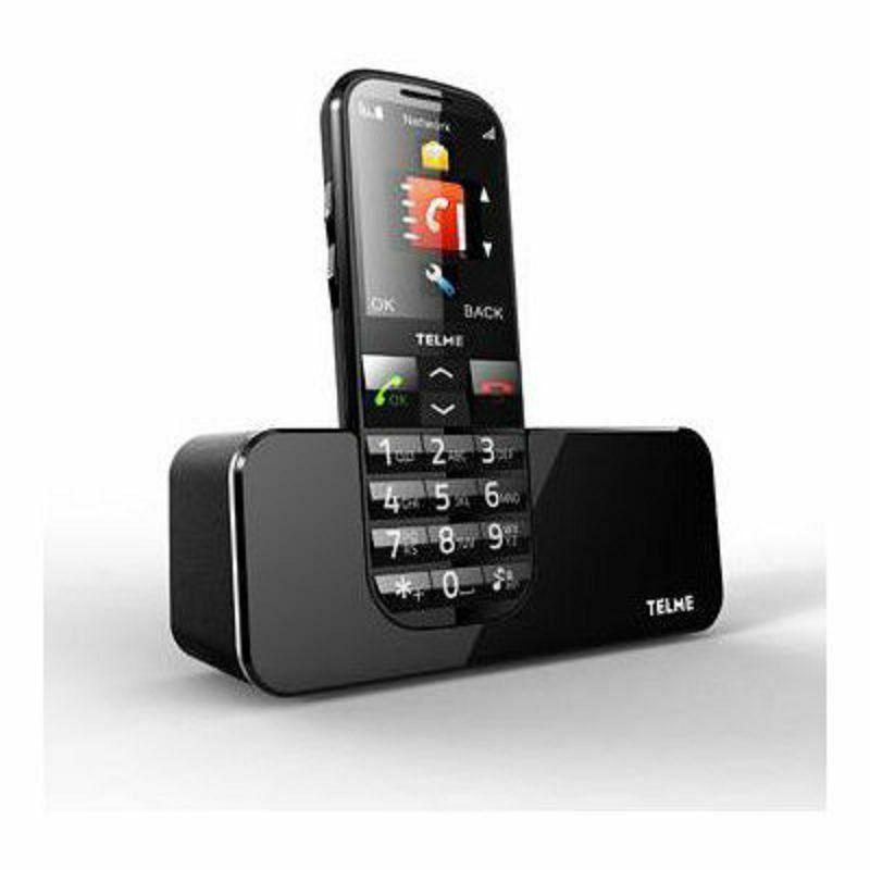telme c160 big button senior mobile phone black ebay. Black Bedroom Furniture Sets. Home Design Ideas