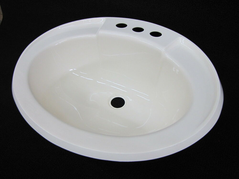 mobile home rv marine parts bathroom lav sink bone