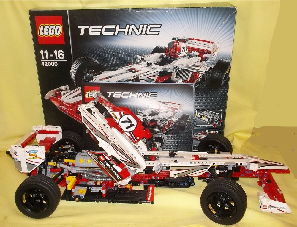lego technic grand prix racer 42000 673419189613 ebay. Black Bedroom Furniture Sets. Home Design Ideas