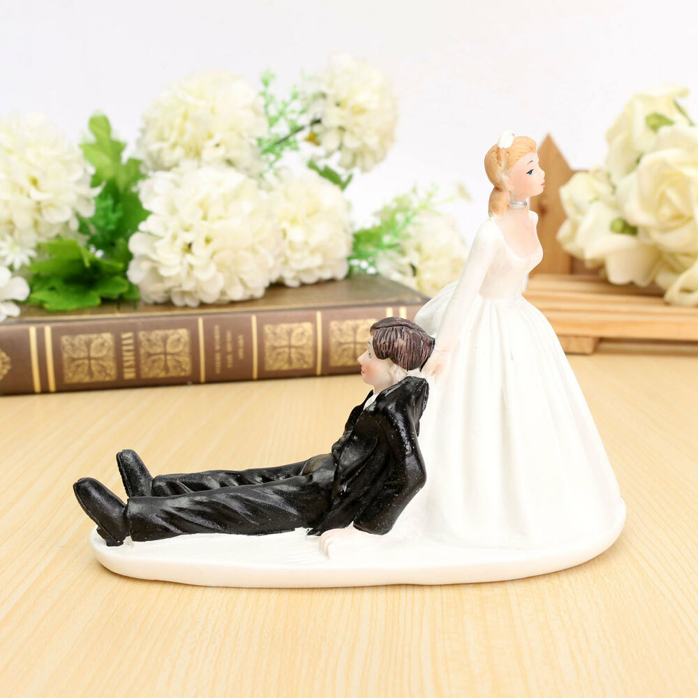 Bride Wedding Cake Topper: Wedding Cake Topper Couple Figurine Romantic Love Bride