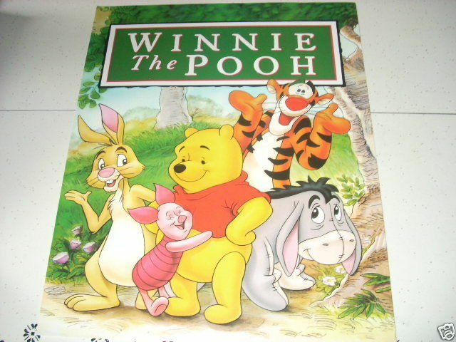 disney winnie the pooh and friends 16x20 poster gang ebay. Black Bedroom Furniture Sets. Home Design Ideas
