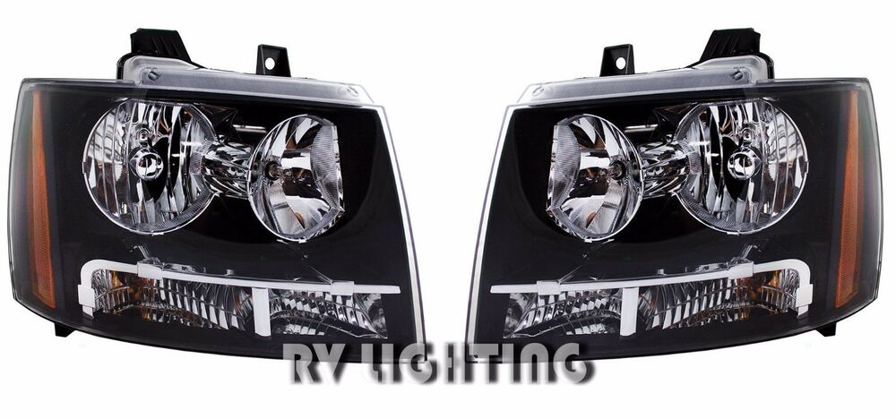 Tiffin Phaeton 2008 2009 2010 Pair Driver Head Light