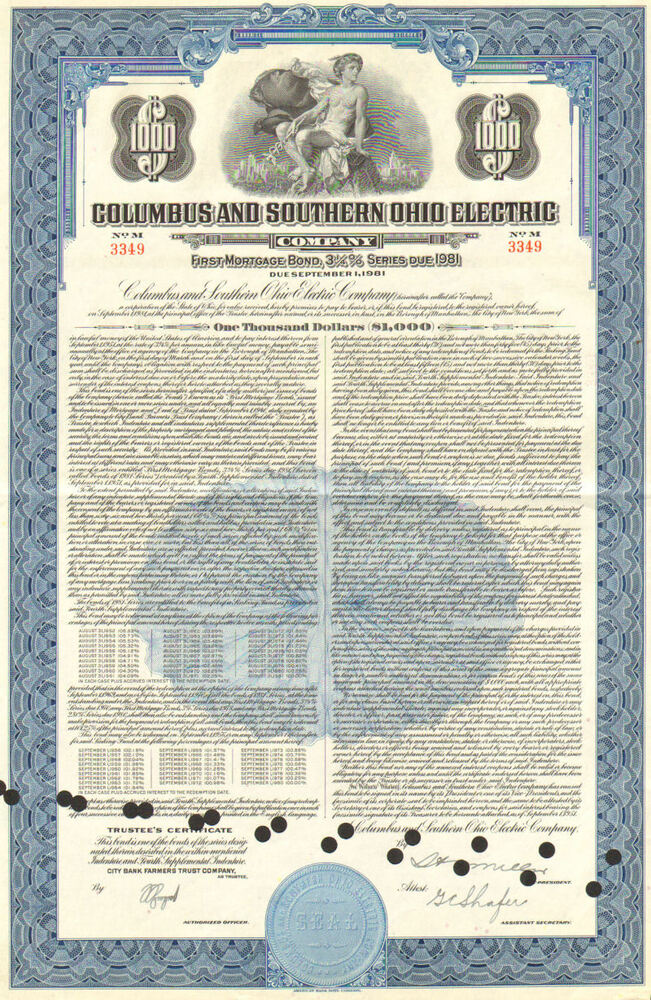 columbus ohio southern aep certificate company electric 1981