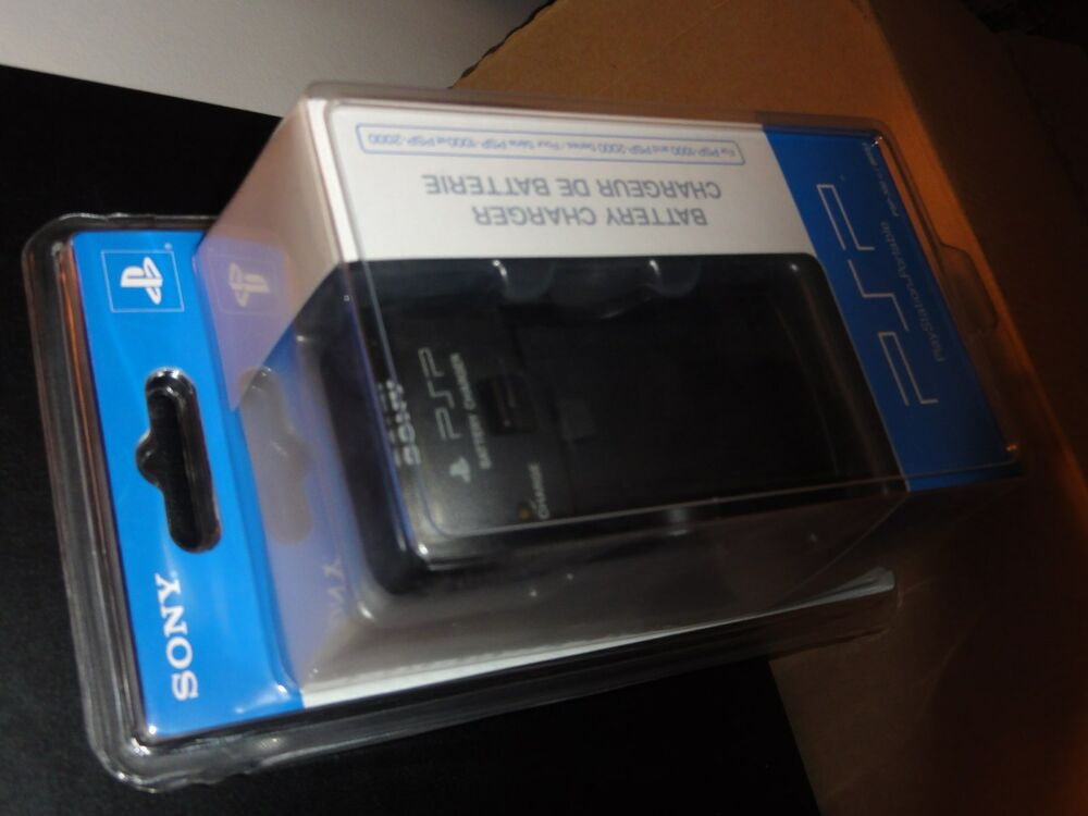 Psp 1000 Psp 2000 : Sony playstation psp battery charger and