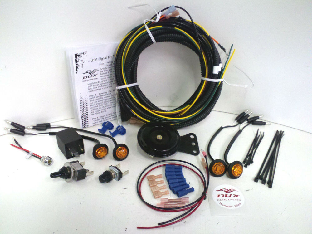 kubota rtv turn signal horn kit street legal wiring harness led kubota rtv turn signal horn kit street legal wiring harness led winch lights