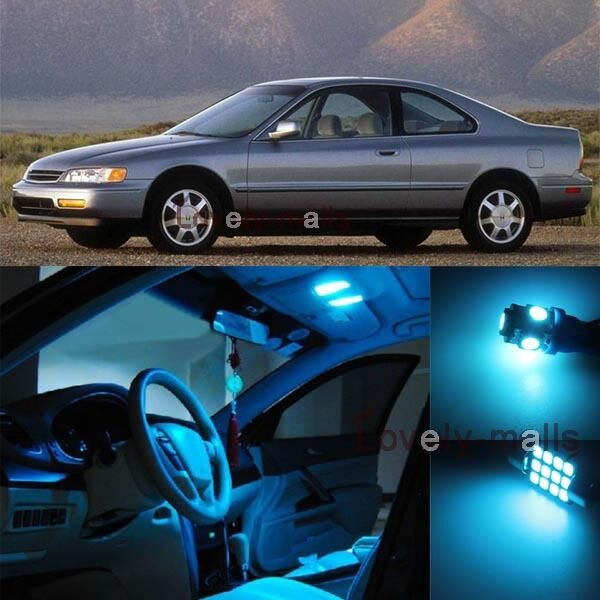 ice blue light bulb smd interior led package for honda accord coupe sedan 94 97 ebay. Black Bedroom Furniture Sets. Home Design Ideas