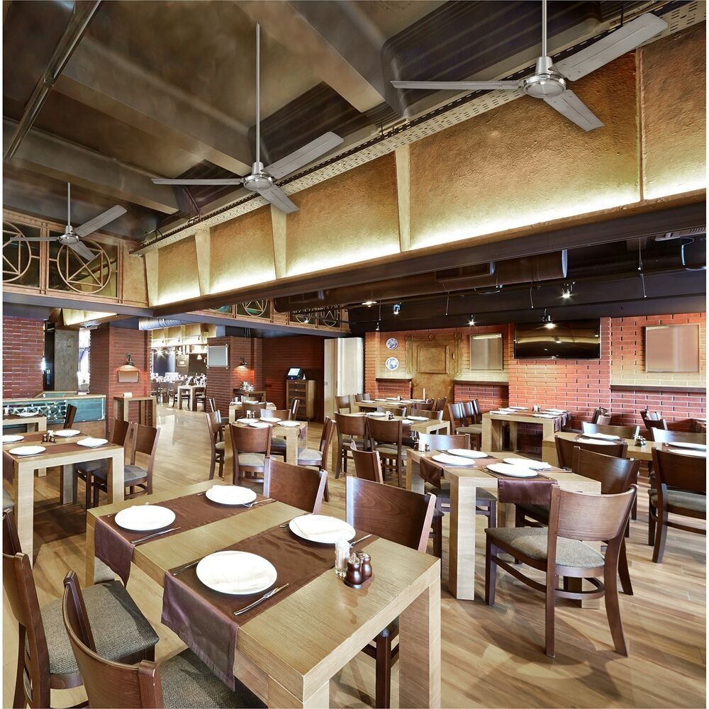 Industrial Ceiling Fan Factory Restaurant Large Rooms