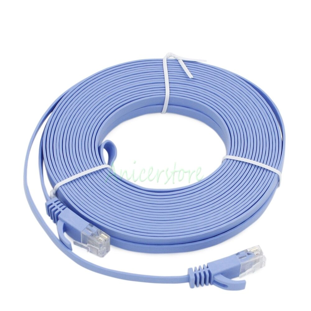 82ft 25m ultrathin cat6 rj 45 ethernet network lan. Black Bedroom Furniture Sets. Home Design Ideas