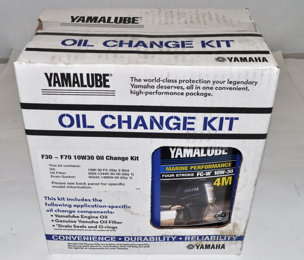 Yamaha  Hp Outboard Oil Change