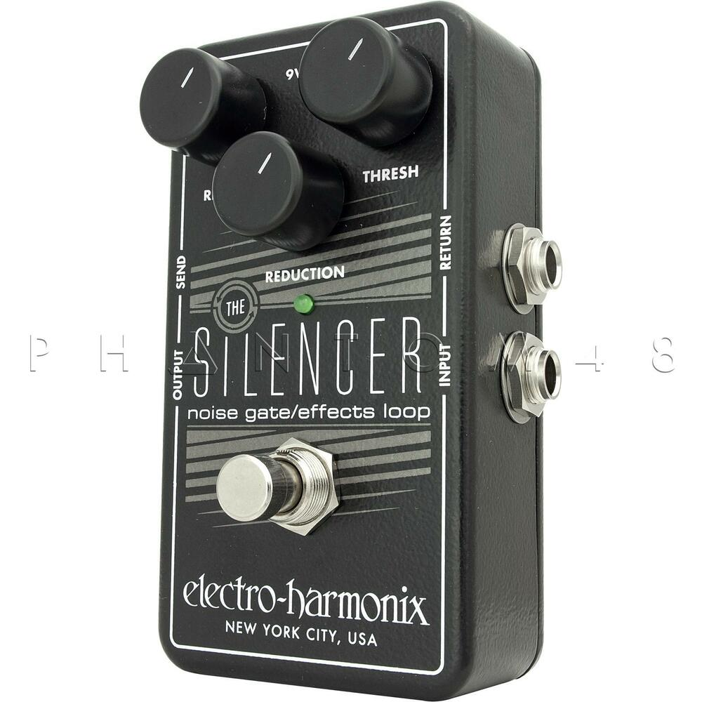 electro harmonix silencer noise gate suppressor guitar effects pedal ehx new ebay. Black Bedroom Furniture Sets. Home Design Ideas