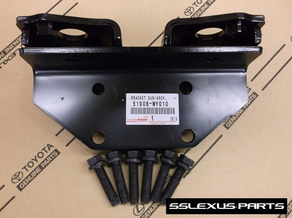 Lexus GX460 (2010-2015) OEM Genuine TOW TOWING HITCH BRACKET + bolts 51908-WY010 | eBay