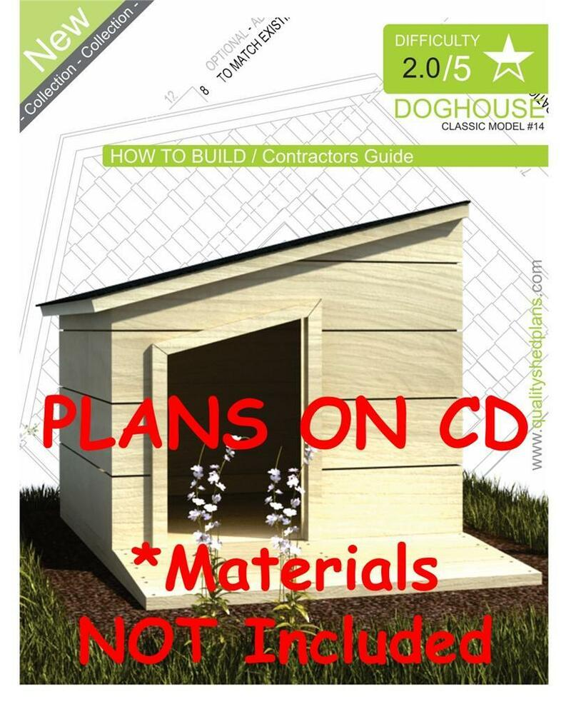 Dog house plans step by step cad drawings how to build for How to build a house step by step instructions