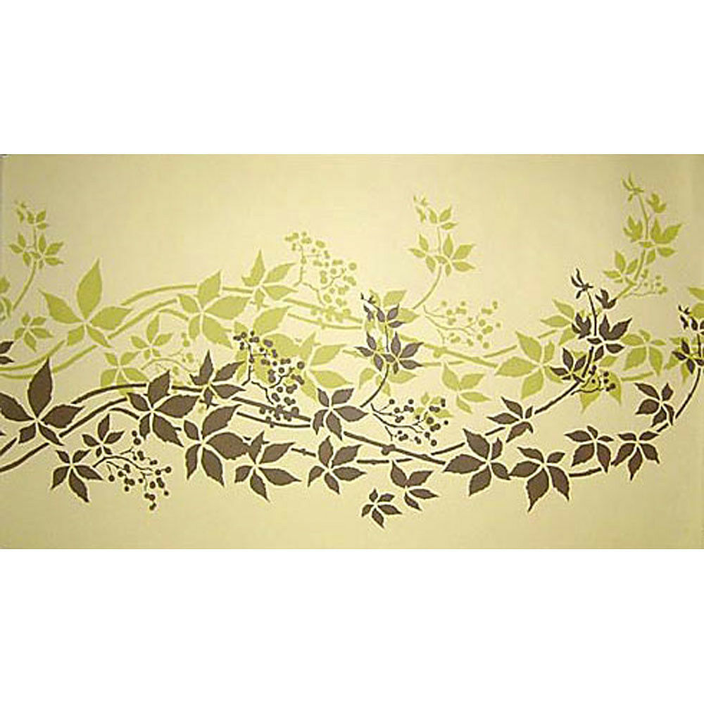 Kitchen Wall Border Stencils