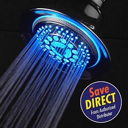 Kyпить DreamSpa® All-Chrome Temperature Controlled Color-Changing LED Shower Head на еВаy.соm