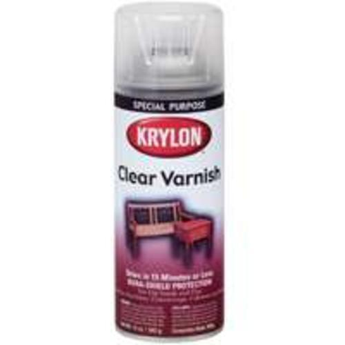 krylon k07001 high gloss clear varnish spray 11 oz ebay. Black Bedroom Furniture Sets. Home Design Ideas