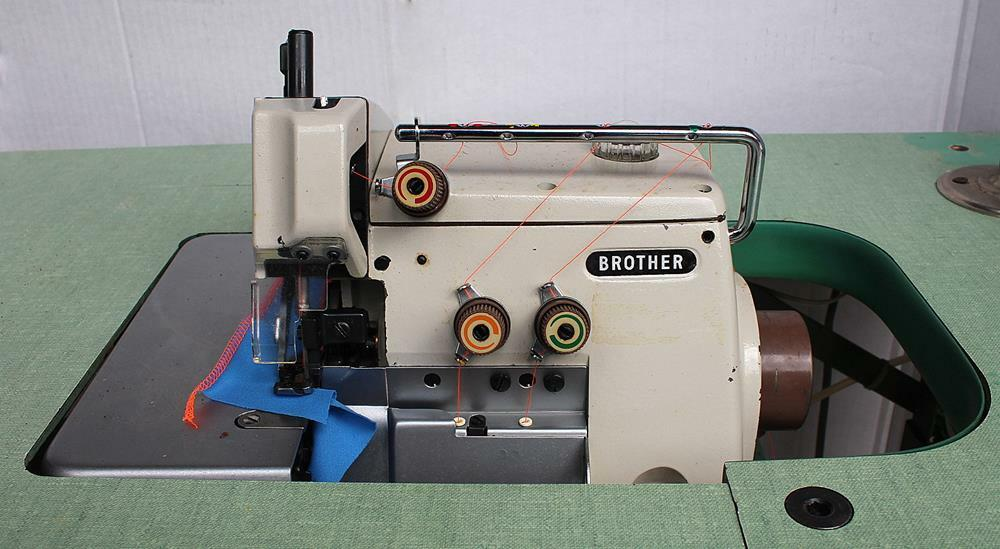 BROTHER EF4-B511 1-Needle 3-Thrd Overlock Serger Industrial Sewing Machine 110V  | eBay