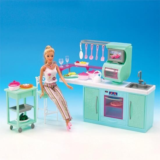 Kitchen Chairs For Cooking: NEW FANCY LIFE DOLL HOUSE FURNITURE Cooking Corner Kitchen