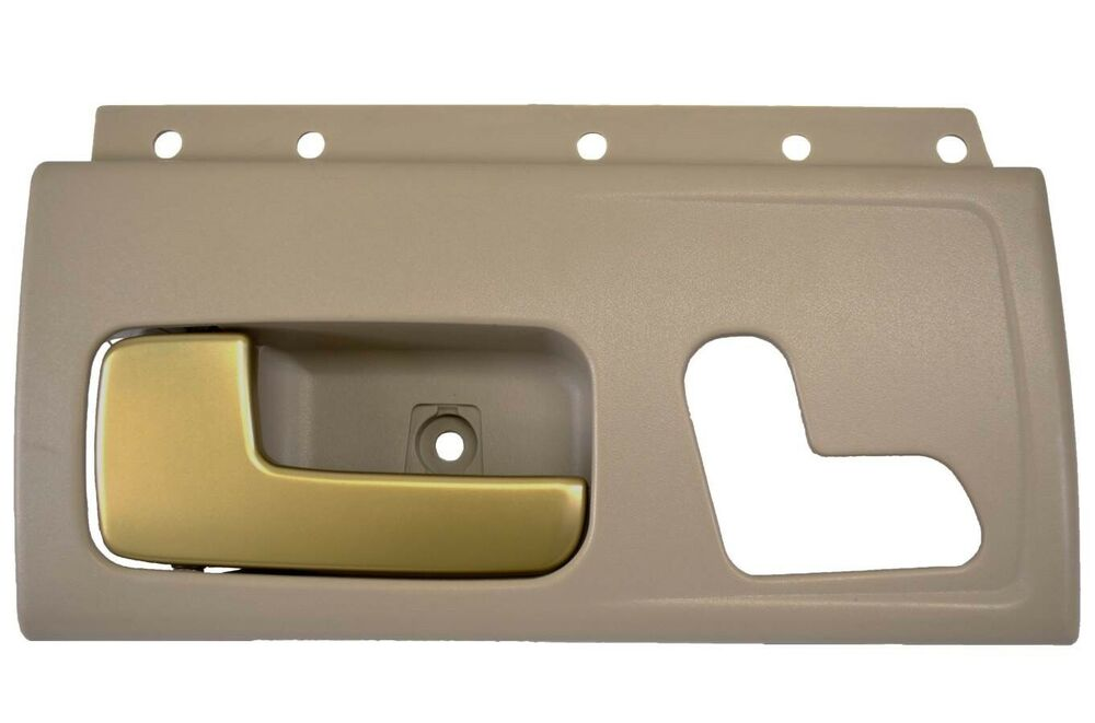 fits lincoln town car inner inside interior door handle driver front left beige ebay. Black Bedroom Furniture Sets. Home Design Ideas