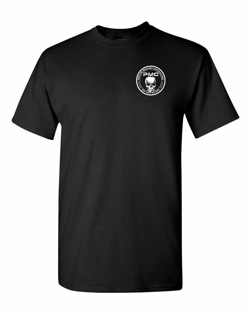 private military contractors pmc you pay we kill front back men 39 s tee shirt 1289 ebay. Black Bedroom Furniture Sets. Home Design Ideas