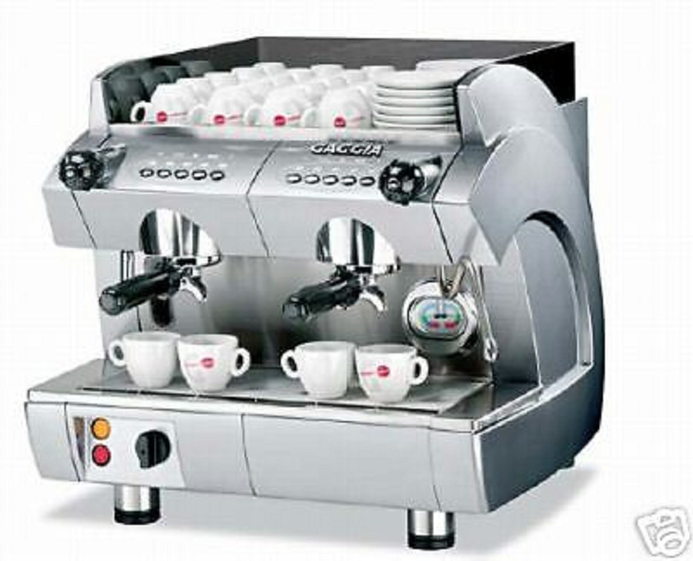 commercial espresso cappuccino machine 2 group gaggia gd cmopact espresso ebay. Black Bedroom Furniture Sets. Home Design Ideas