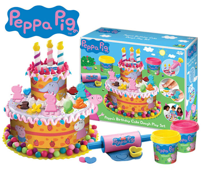 Peppa Birthday Cake Play Doh