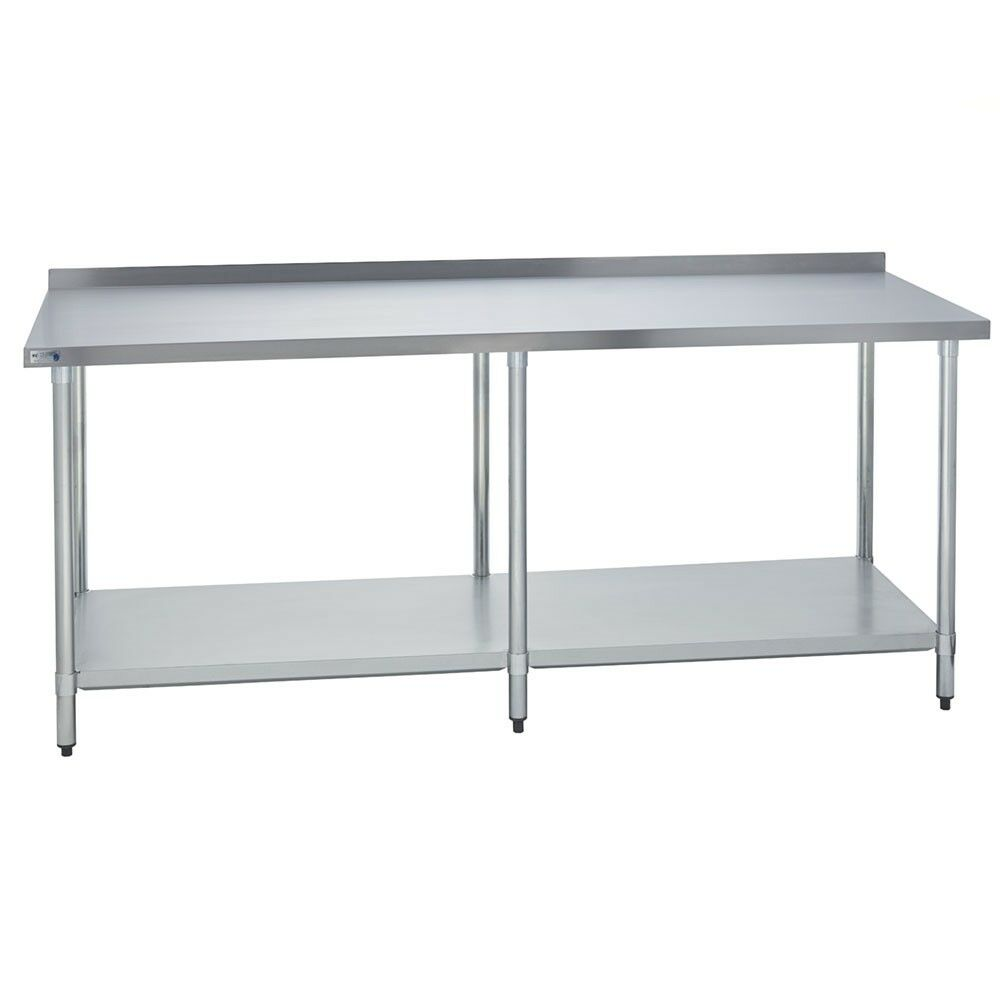 Stainless Steel Commercial Kitchen Prep Table 2