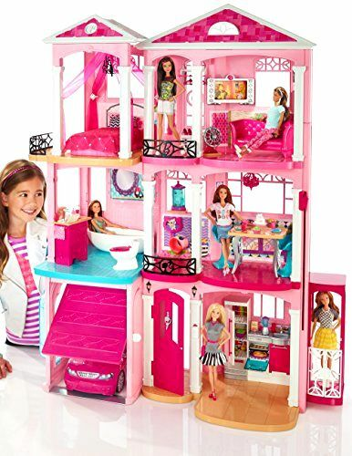 Barbie Dream House 3 Story With Elevator Furniture ...