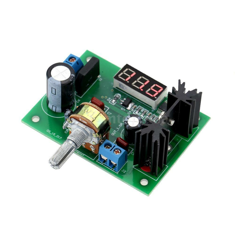 Lm317 Ac Dc Adjustable Voltage Regulator Step Down Dc