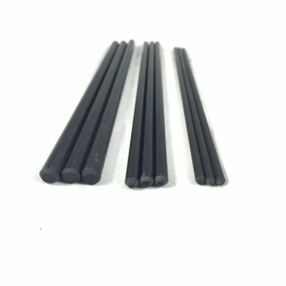 Carbon Fiber Solid Round Rod Pin Stock 6 Quot Knife Making