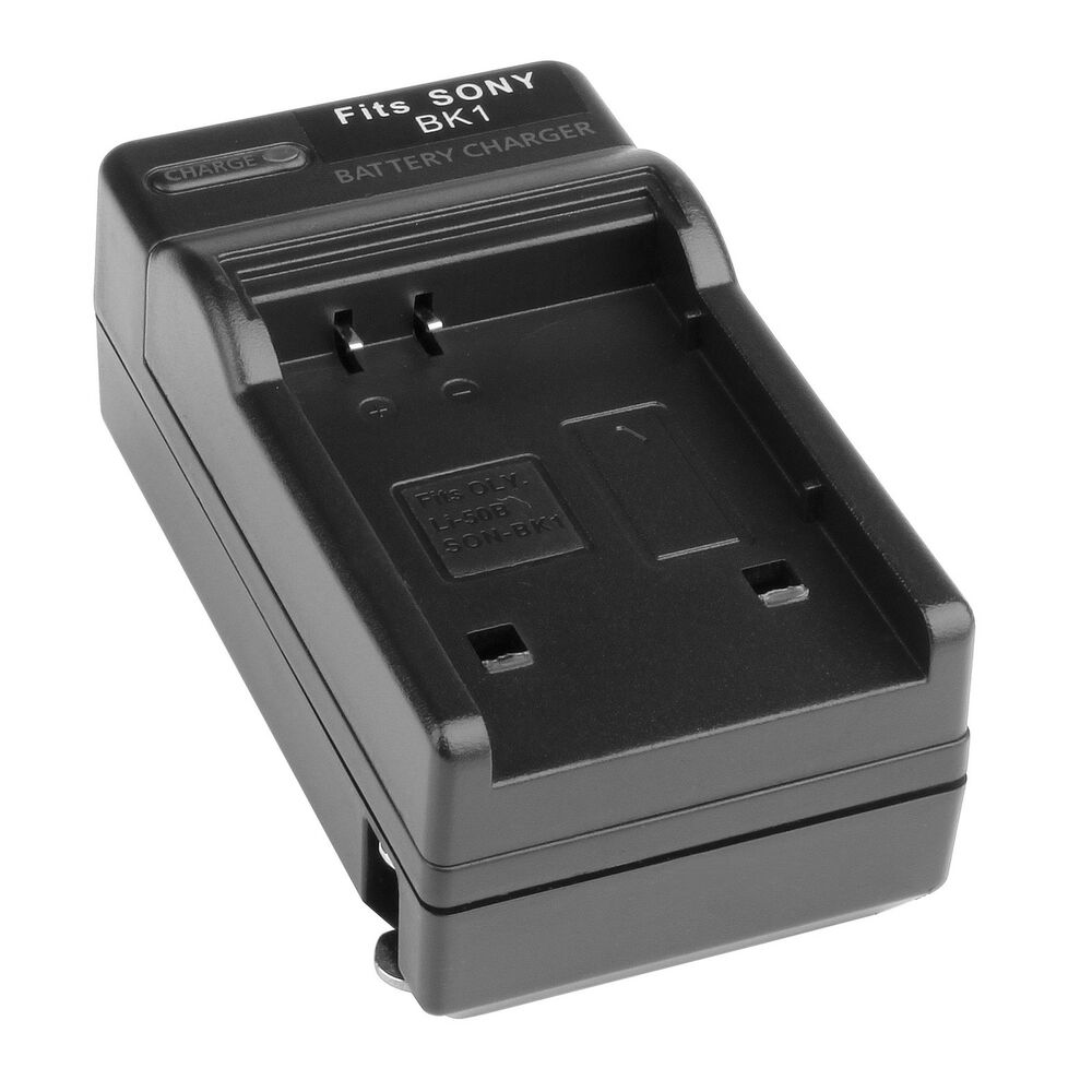 Np Bk1 Camera Battery Charger For Sony Fk1 Cybershot Dsc