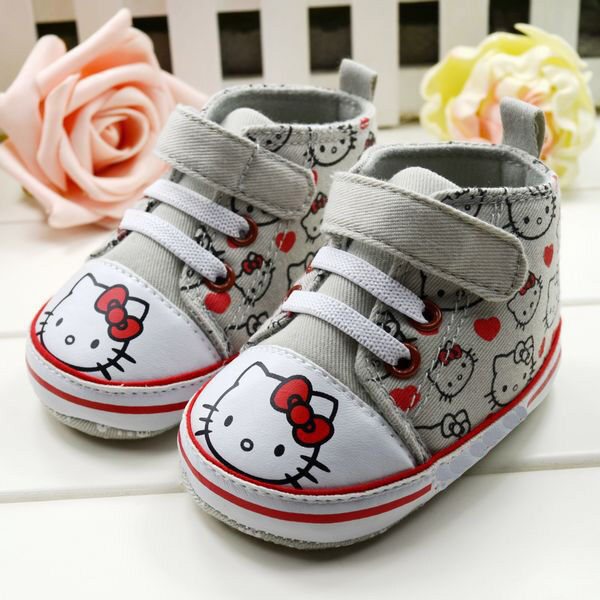 Cute Baby Toddler infant girl Soft Sole Crib Shoes sneaker
